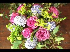 Wie Sie einen handgebundenen Blumenstrauss arrangieren - YouTube