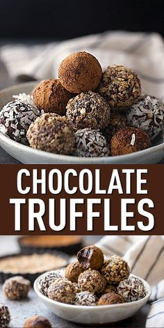 Chocolate Truffles: These are so easy to make with just 2 ingredients! #truffles #recipe #chocolate #christmas #recipeeasy #dessert #easy #peppermint #candy #whitechocolate #homemade #nobake #holiday #easychocolate #baileys #raspberry #darkchocolate #howtomake #coffee #boozy #balls #rum #mint #homemadechocolate #orange #glutenfree #chocolateorange #bakingamoment Chocolate Truffle Recipe, Chocolate Cake Recipe Easy, Chocolate Truffles, Homemade Chocolate, Cheesy Recipes, Easy Cake Recipes, Candy Recipes, Homemade Truffles, Truffles Recipe