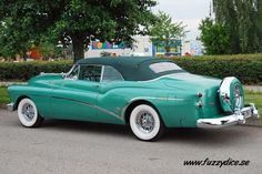1953 Buick Skylark Maintenance/restoration of old/vintage vehicles: the material for new cogs/casters/gears/pads could be cast polyamide which I (Cast polyamide) can produce. My contact: tatjana.alic@wind...