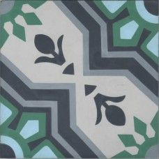 Moroccan Encaustic Cement Pattern Pre Sealed 11b