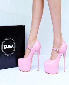 Mary Jane Light Pink High Heel Platform Shoes Mary Jane Light Pink High Heel Platform Shoes Available in big sizes and small sizes. This is very popular design, we believe you will love it very… Continue Reading → Light Pink High Heels, Pink Heels, Sexy High Heels, Womens High Heels, Hot Heels, Wedge Heels, Extreme High Heels, Platform Shoes Heels, Mary Janes