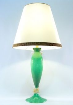 Table crystal lamp - Pulegoso/Green  BUY IT NOW ON www.dezzy.it!