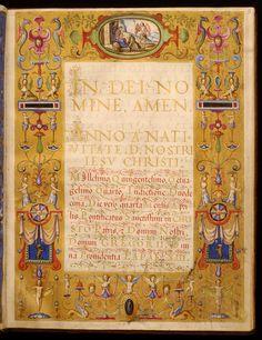 Francesco Maria II Della Rovere, Duke of Urbino - Leaf from Dogale of Francesco della Rovere Mamiami - Walters W4812R - Open Obverse.jpg
