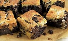Rum and mint brownies