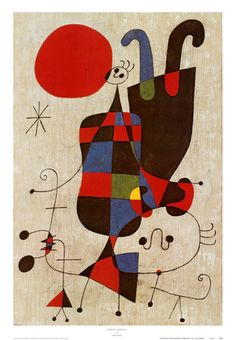 Inverted Personages, Joan Miro'
