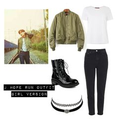 To School Outfit bts School with Jimin Jhope Run roupa inspirada em MV Kpop Fashion Outfits, Indie Outfits, Girl Outfits, Casual Outfits, Cute Outfits, Story Starter, Girl Fashion Style, Fashion Styles, Bts Clothing