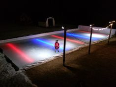 Backyard Ice Rink Lights 60 best backyard ice rinks images on pinterest | backyard ice rink