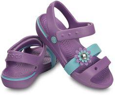 f9f8181e9 Crocs Girls  Keeley Petal Charm Sandal