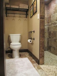 The Finished Basement  Basement Bathroom Thrifty Decor Chick And Delectable Basement Bathroom Design Ideas Inspiration