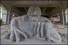 the famous fremont troll :)