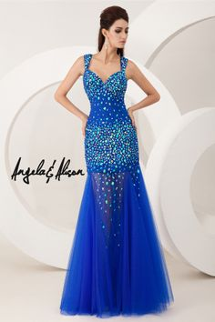 gorgeous blue sparkly 2014 prom dress from AE dresses in Fargo ND