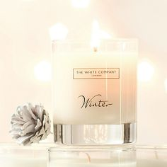 Winter Signature Candle | The White Company - My favourite winter candle.