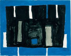 William Scott, Untitled, 1952, Gouache on paper, 38 × 47.5 cm / 15 × 18¾ in, Richard Green Fine Paintings, London