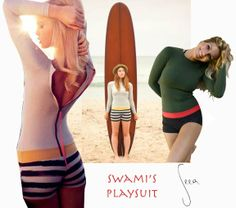 One of the few cute women's wetsuits