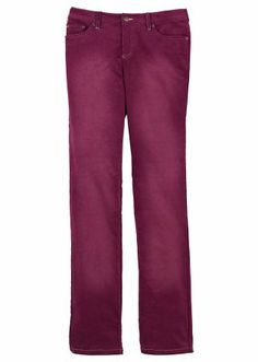 Stretch-Cordhose STRAIGHT, Kurz