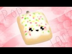 Kawaii Pop Tart Polymer Clay Tutorial