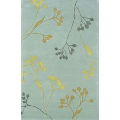 I pinned this Velasquez Rug in Sky from the Oak Orchard Studios event at Joss and Main!