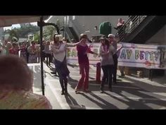Must see! Betty White surprised with giant flash mob for 93rd birthday