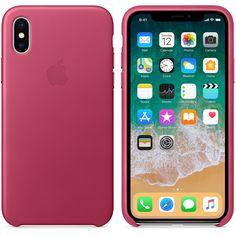 Läderskal till iPhone X – fuchsia Apple Inc 4027c70678bf9