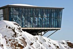 Knoll Ridge Cafe by Harris Butt Architecture LTD
