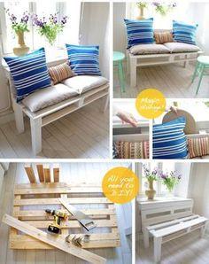 DIY pallet storage bed |19 Creative DIY Pallet Projects