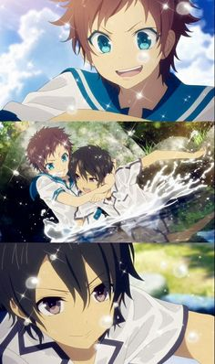 nagi no asukara, anime , love , romance