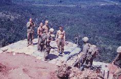 Returning patrol - Central Highlands, Vietnam