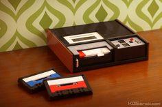 Vintage Cassette Player | by kosbrick
