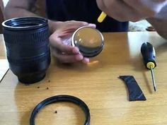 Removing dust from the Nikon 18-200mm VR Lens - YouTube