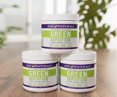 Green Superfood 3-PACK - Free Shipping + $10 off | Dr. Axe Store