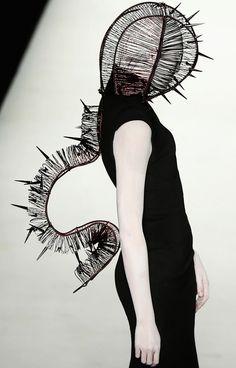 High fashion   macabre   surreal   occult   goth   editorial   dark fashion   runway   catwalk