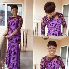 Creative Ankara Long Gown Design .... Creative Ankara Long Gown Design