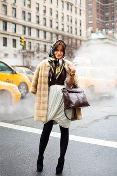 My Daily Fashion Dose: Lesson in style via Miroslava Duma
