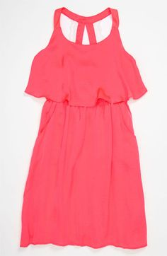 Paper Doll Lace Back Popover Dress (Little Girls & Big Girls) available at Nordstrom...TS BIRTHDAY DRESS!!!