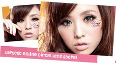 Pinky Paradise - The Largest Online Circle Lens Store, toric (astigmatism) prescription Cat Eye Contacts, Green Contacts Lenses, Halloween Contacts, Natural Color Contacts, Best Colored Contacts, White Contact Lenses, Eye Contact Lenses, Lolita Makeup, Toric Lenses