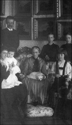 Ludovika en gezin Karl Theodoor
