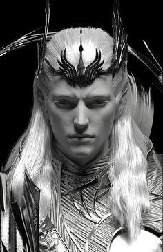 Not actually Thranduil, but so similar looking! Fantasy Story, Fantasy Male, Dark Fantasy Art, Fantasy Artwork, Fantasy World, Dark Art, Fantasy Character Design, Character Inspiration, Character Art