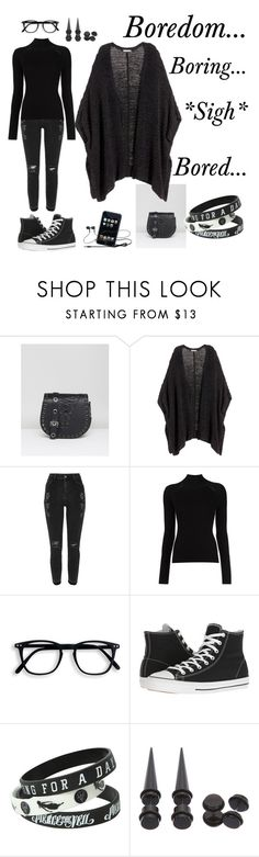 """Boredom..."" by june549208 ❤ liked on Polyvore featuring Marc B, H&M, Misha Nonoo and Converse"