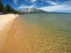 Pope Beach | Best South Lake Tahoe Beaches. Pope Beach is Great for families, get togethers and barbecues