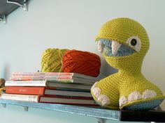 crocheted toy by Carey Huffman