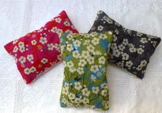 Three Liberty Lavender Bags from Miss Pin.