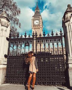 Londres. Big Ben. Instagram: @viihrocha