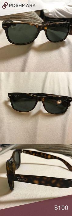 RayBan Wayfarer Sunglasses RayBan wayfarer sunglasses in tortoise. New style. Only worn a few times, good condition. Ray-Ban Accessories Sunglasses