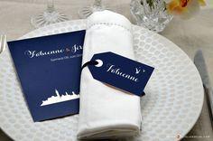 Cet article Carte Menu Mariage Venise<br> + Marque-place mariage est apparu en premier sur L'Atelier d'Elsa Faire-part - faire-part de mariage et de naissance créé sur mesure, papeterie originale Jour J et carterie évènementielle.