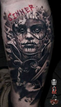 Great piece by Marek Maras Rydzewski ##Tattoos - psyk02mikmak07 - Google+