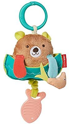Skip Hop Camping Cubs Jitter Bear Fishing Bear - Skip Hop Camping Cubs Jitter Bear Fishing Bear is a cute baby teething toy with a whole lot of shaki Baby Toys, Kids Toys, Bear Fishing, Camping With A Baby, Baby Teethers, Teething Toys, Teething Babies, Cubs, Cute Babies