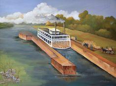 Shirley Esco, 2014 Loading the Locks