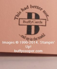 Circle Monogram, great idea for how to personalize this stamp from Stampin' Up!  NEED This!!!