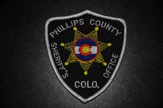 Phillips County Sheriff Patch, Colorado