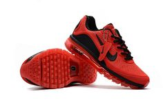 5659f4aaa16d New Coming Nike Air Max 2017 5Max KPU Red Black Chaussures De Course,  Chaussures De